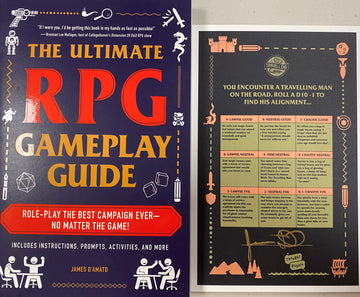 The Ultimate RPG Gameplay Guide *with Travelling Man exclusive SIGNED bookplate!!!*