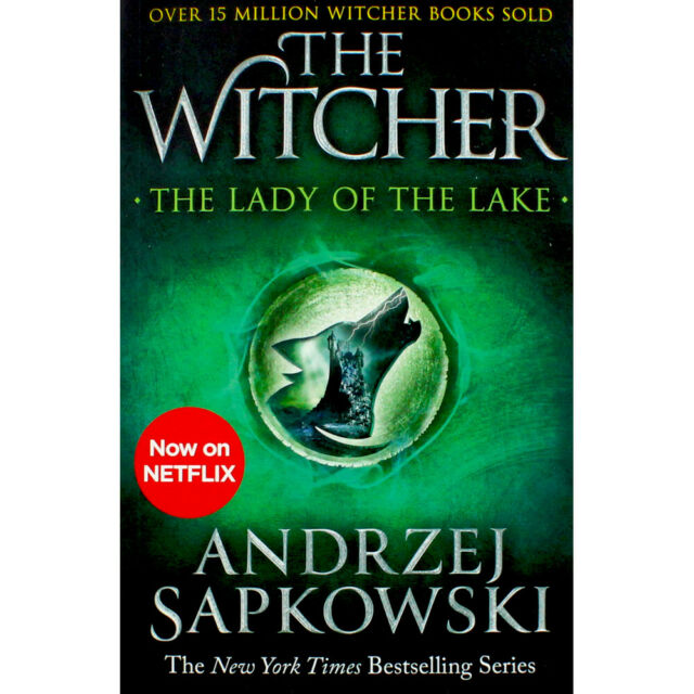 THE WITCHER BOOK 5: THE LADY OF THE LAKE