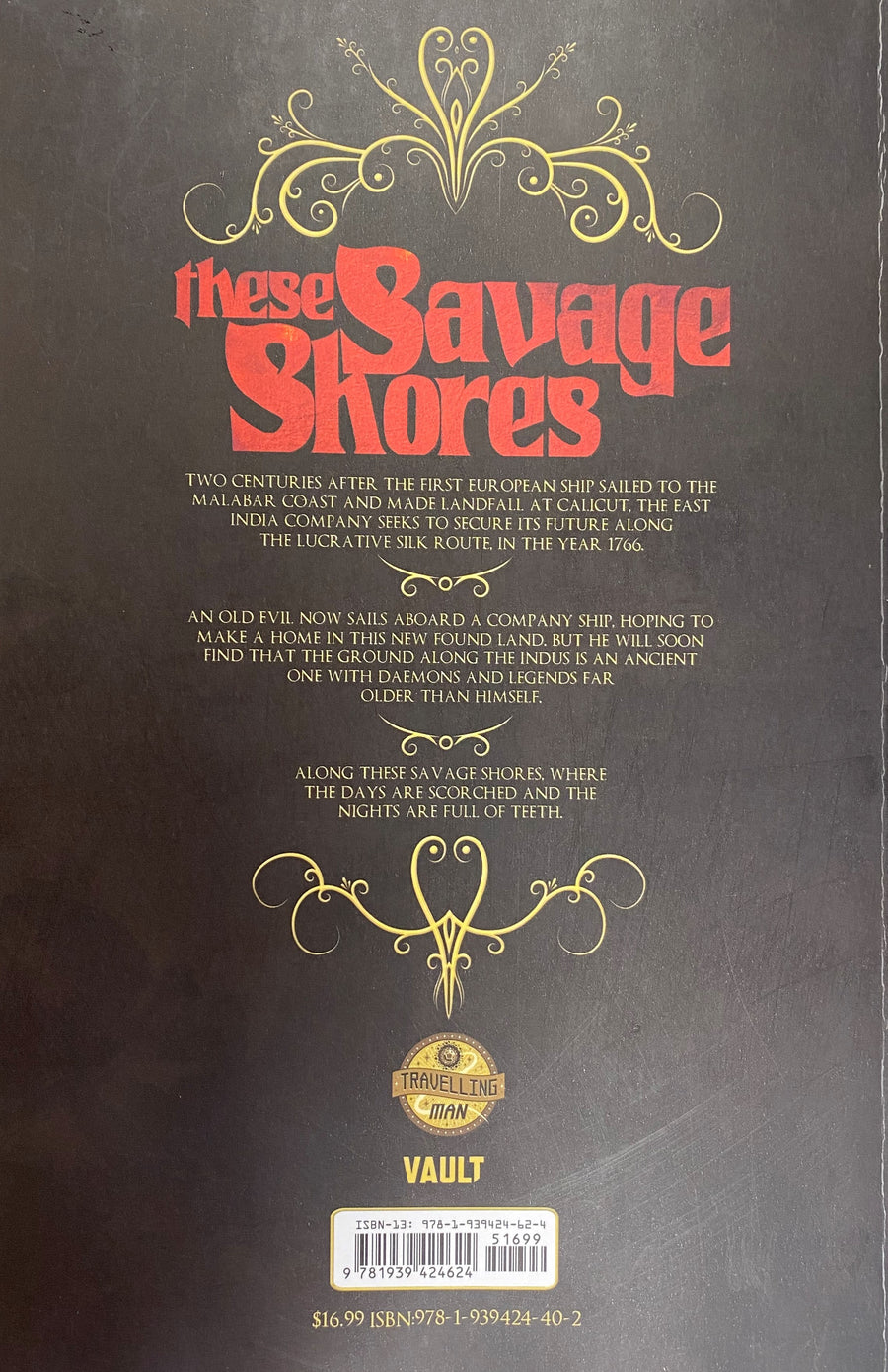 These Savage Shores *TRAVELLING MAN EXCLUSIVE COVER*