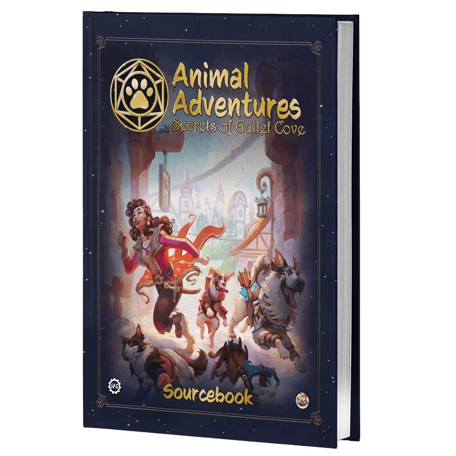 Animal Adventures RPG Secrets of Gullet Cove