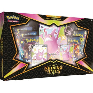 Pokemon TCG Shining Fates Shiny Crobat VMAX Premium Collection