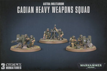 Astra Militarum Cadian Heavy Weapons Squad