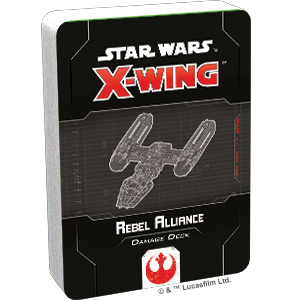 Star Wars X-Wing Rebel Alliance Damage Deck