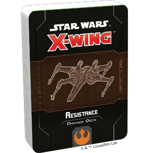Star Wars X-Wing Resistance Damage Deck