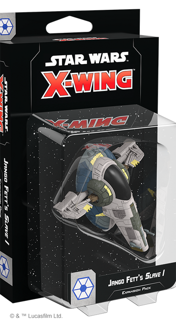 Star Wars X-Wing Miniatures Game Jango Fett's Slave I Expansion
