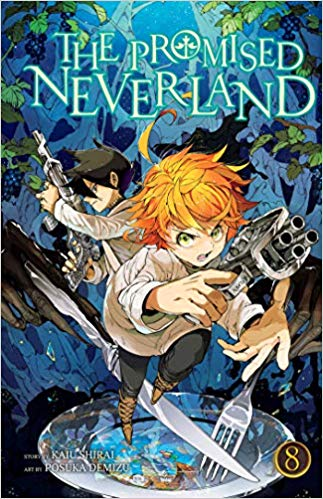 The Promised Neverland Volume 8