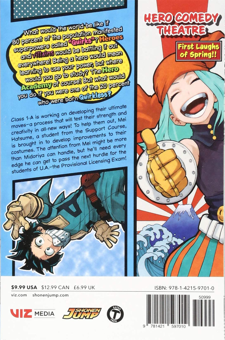 My Hero Academia Volume 12
