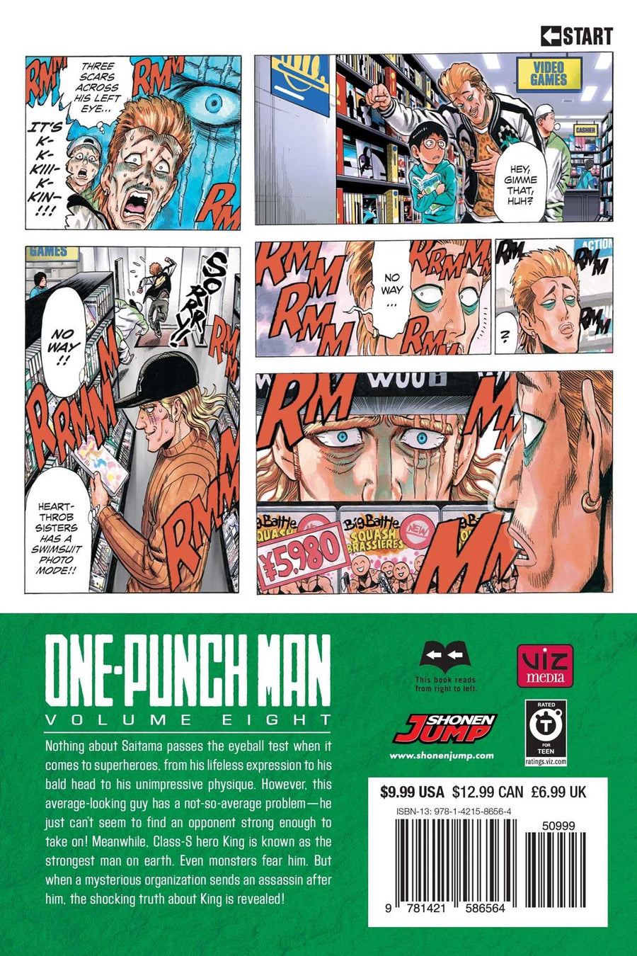 One Punch Man Volume 8
