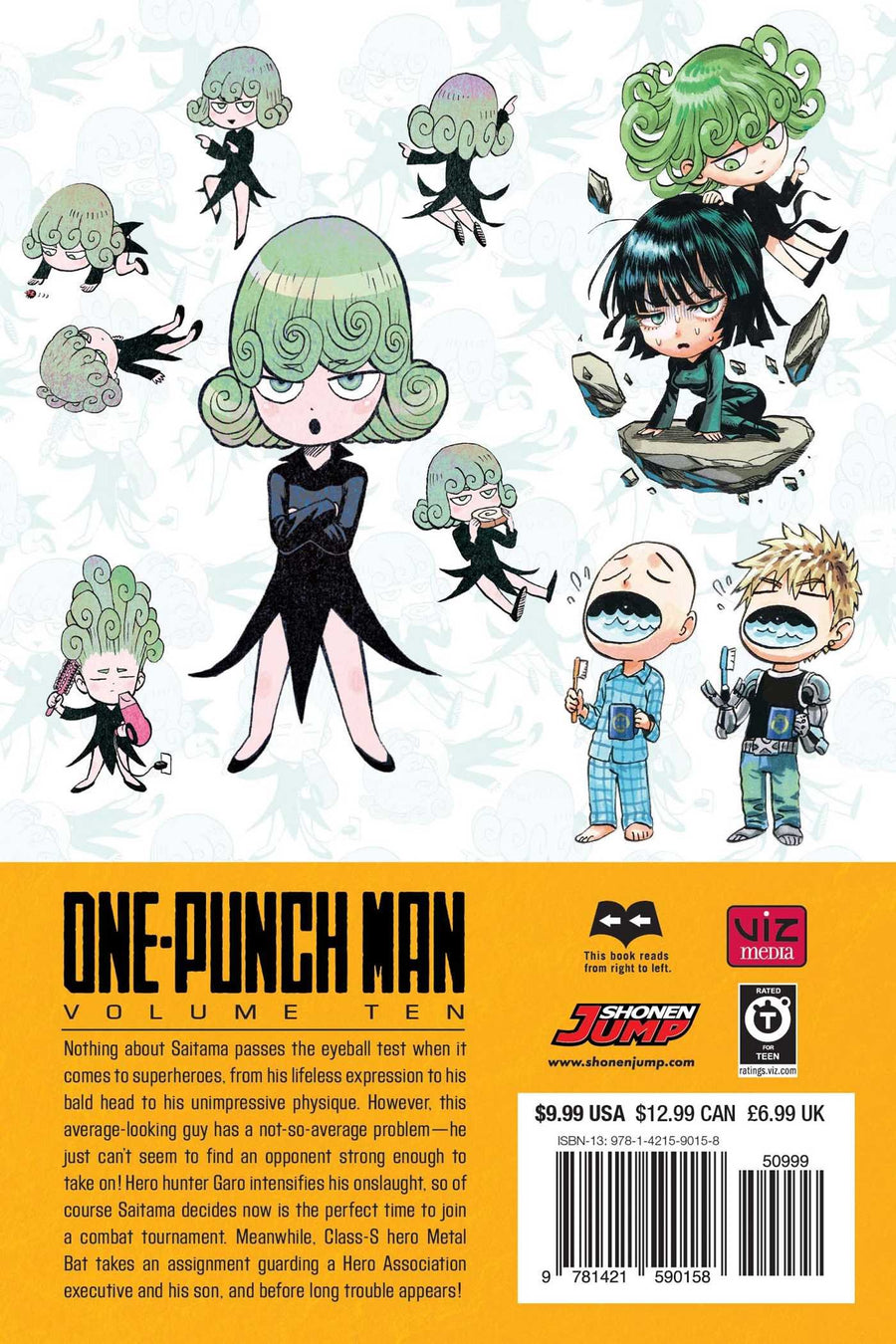 ONE PUNCH MAN VOLUME 10