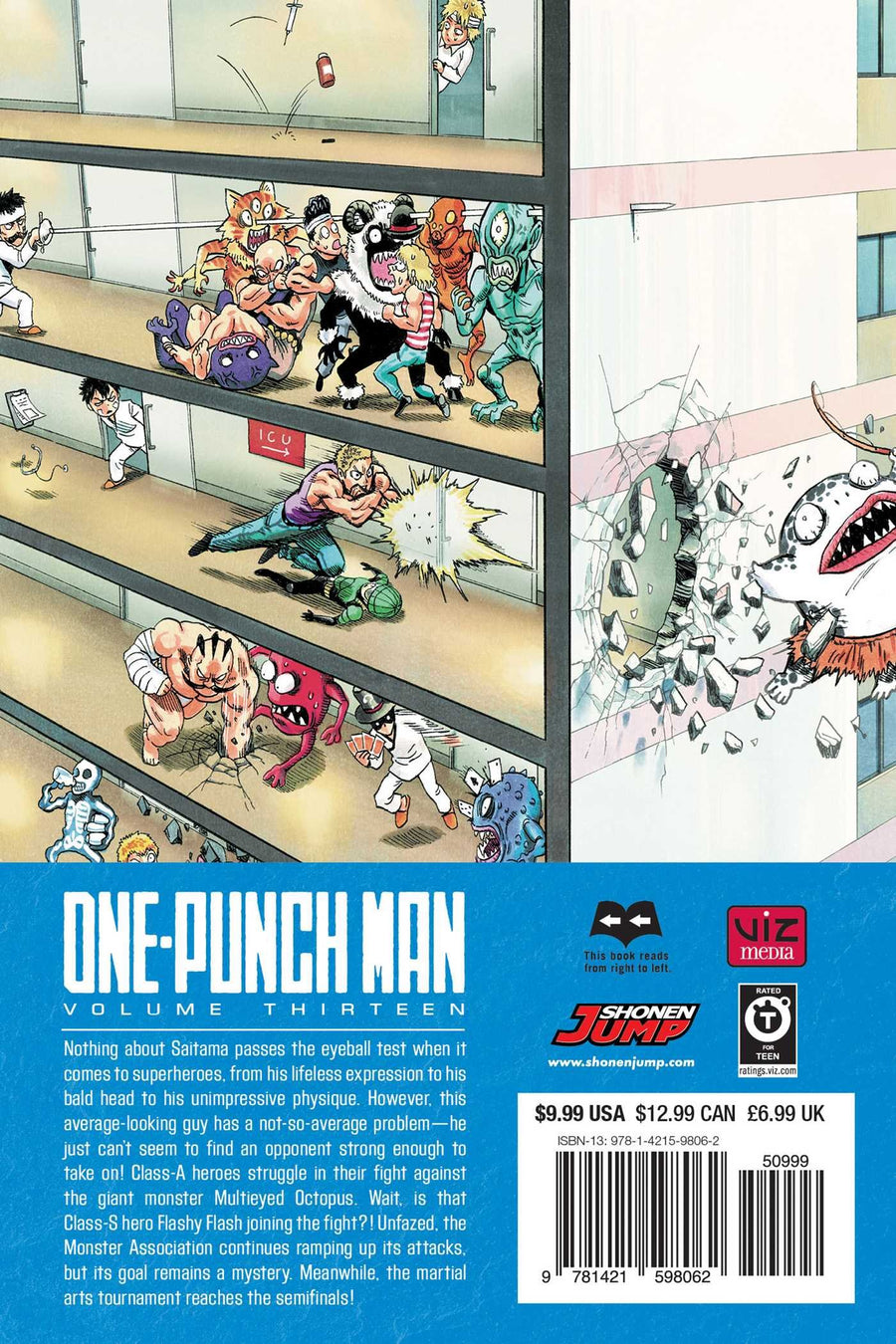 One Punch Man Volume 13