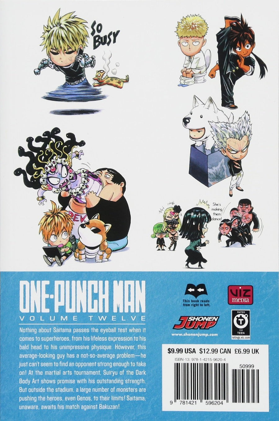 One Punch Man Volume 12