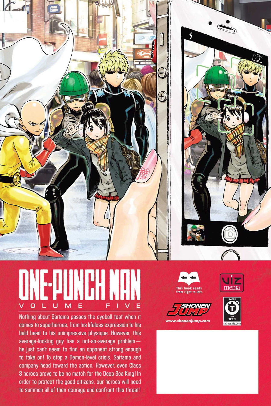 One Punch Man Volume 5