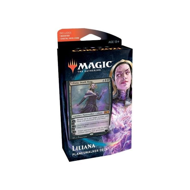 Magic The Gathering Core 2021 Planeswalker Deck Liliana