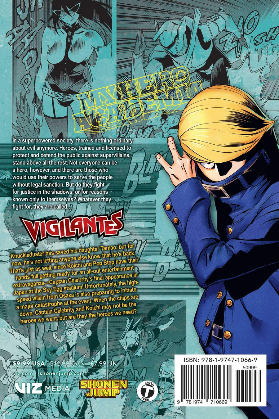 My Hero Academia Vigilantes Volume 7