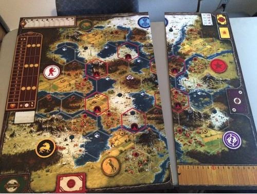 Scythe Game Board Extention