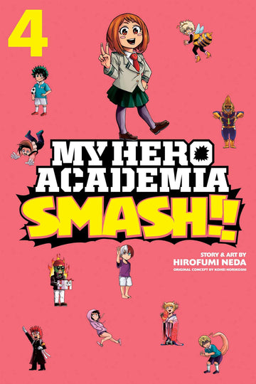 My Hero Academia Smash Volume 4