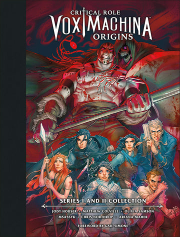 Critical Role Vox Machina Origins Library Edition Hardcover Volume 1