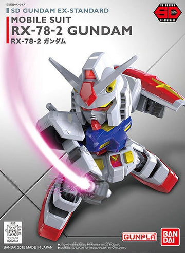 SD Gundam RX-78-2 EX STD 001 Model Kit