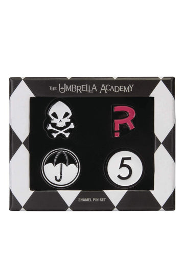 Umbrella Academy Pin Set