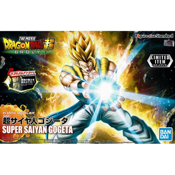 Dragon Ball Super Super Saiyan Gogeta Figure Rise Limited Item Model Kit
