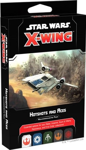 Star Wars X-Wing Hotshots And Aces Reinforcement Pack