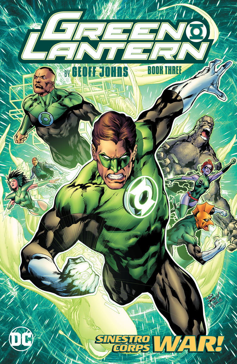 Green Lantern By Geoff Johns Book 3