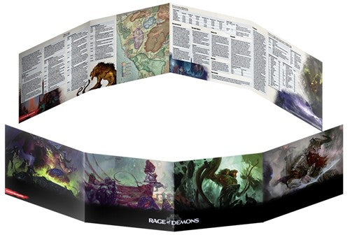 Dungeons & Dragons Rage Of Demons DM Screen