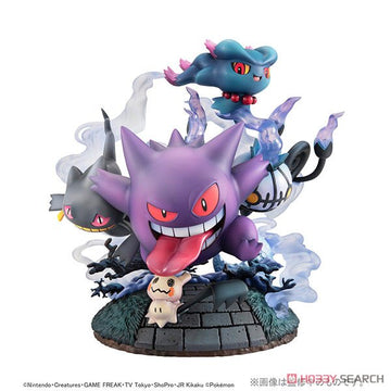 G.E.M.EX Series Pokemon Ghost Type are All Gathering!