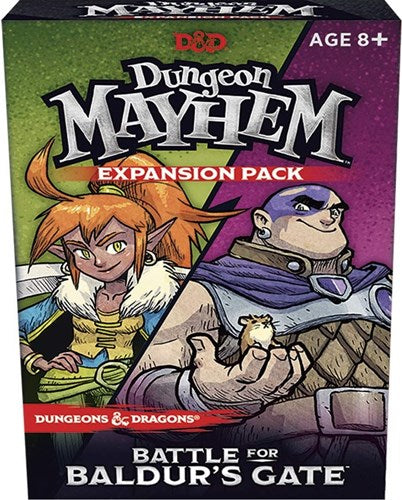 D&D Dungeon Mayhem Battle For Baldur's Gate Expansion