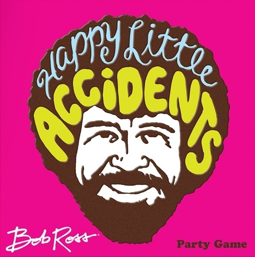Bob Ross Happy Little Accidents Party Game