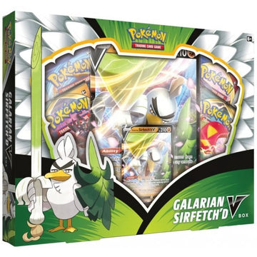 Pokemon TCG Galarian Sirfetch'd V Box