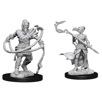 Stoneforge Mystic & Kor Hookmaster: Magic the Gathering Unpainted Miniatures (W13)