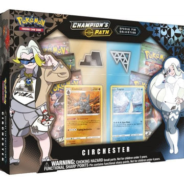 Pokémon TCG Champion's Path Circhester Special Pin Collection