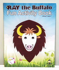 RAY Fun Activity & Coloring Book