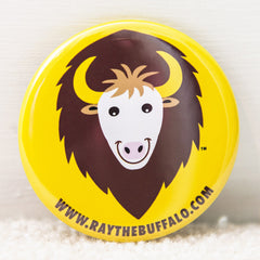 Ray the Buffalo button