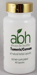 New Turmeric/Curcumin 95% Capsule Sale - Always Be Healthy