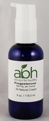 New Progesterone Stabilizing Cream Super Sale - 500mg per Ounce (paraben free) - Always Be Healthy