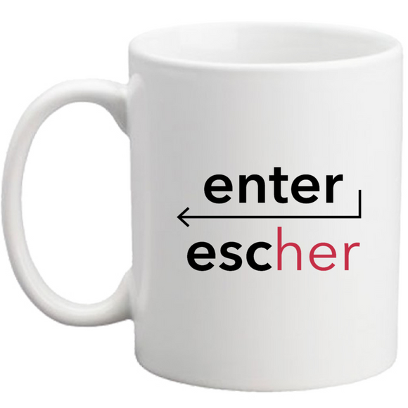 Tazza ENTER/ESCHER