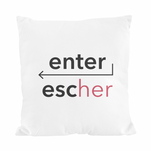Cuscino ENTER/ESCHER
