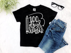 Boy's 100 Days of School Top