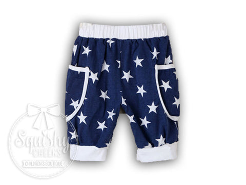 BLOWOUT: 4th of July Boy's Shorts