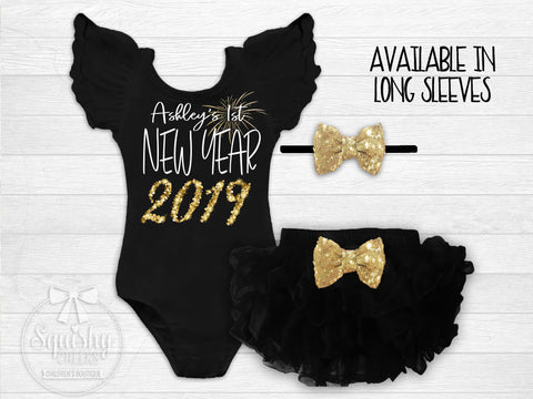 Personalized 1st New Year's Outfit 2019