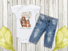 Boy's Personalized 1st Father's Day Top