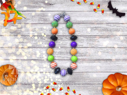 Halloween Chunky Necklace