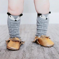 Woodland Fox Knee High Socks