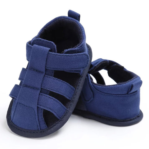 Navy Baby Boy Fisherman Sandals