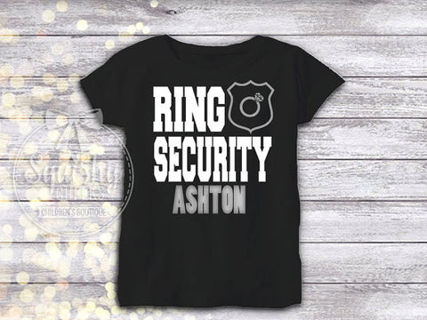 Boy's Ring Security Shirt