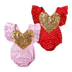 Heart Bubble Romper