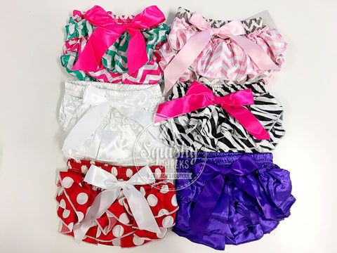 GRAB BAG: Satin Baby Bloomers
