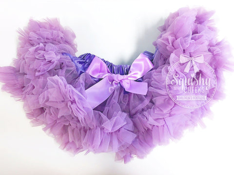 BLOWOUT: Lilac Fluffy Petti Skirt